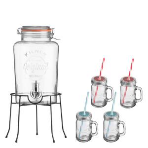 Kilner Drinks Dispenser Gift Set