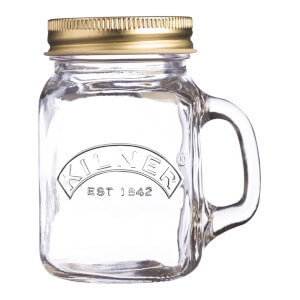 Set 12 Kilner Mini Handled Jar - 140ml