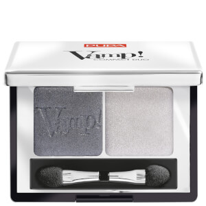 PUPA Vamp! Compact Eyeshadow Duo - Silver Stone