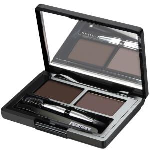 PUPA Eyebrow Design kit sopracciglia - castano scuro