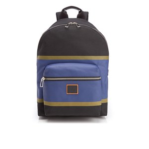 Paul Smith Men's Stripe Backpack - Black