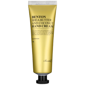 Crema de manos Shea Butter and Coconut de Benton 50 g