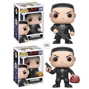 Daredevil Punisher Pop! Vinyl Figur
