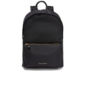 Ted Baker Women's Kelda Exotic Trim Nylon Backpack - Black