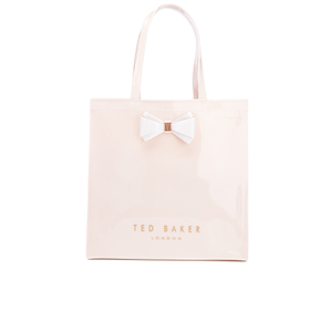 Ted Baker Women's Alacon Plain Bow Large Icon Bag - Mid Pink