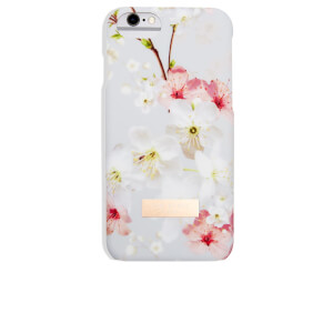 Ted Baker Women's Saoirse Oriental Blossom iPhone 6 Clip Case - Light Grey