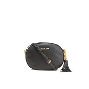 MICHAEL MICHAEL KORS Women's Ginny Medium Messenger Bag - Black