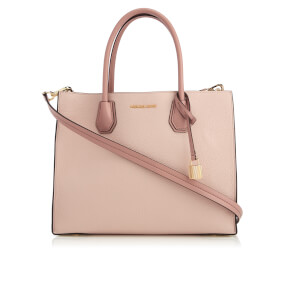 MICHAEL MICHAEL KORS Women's Mercer Large Convertible Tote Bag - Soft Pink/Ecru/Fawn