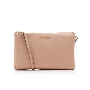 MICHAEL MICHAEL KORS Women's Adele Double Gusset Cross Body Bag - Oyster