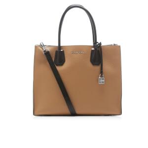 MICHAEL MICHAEL KORS Women's Mercer Large Convertible Tote Bag - CSHW/Ecru/Black