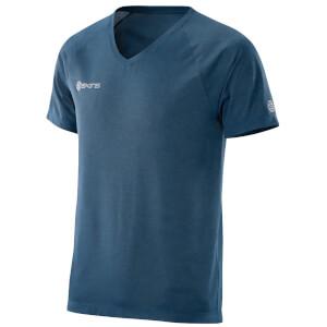 Skins Plus Men's Vector V Neck T-Shirt - Atmos/Marle