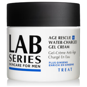 Lab Series Skincare for Men Age Rescue+ Water-Charged Gel Cream 97ml (Exclusive) (Worth £87.30)