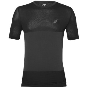 Asics Men's FuzeX Seamless Run T-Shirt - Dark Grey