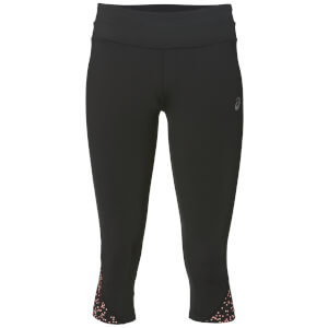 Asics Women's Race Run Capri Tights - Diva Pink