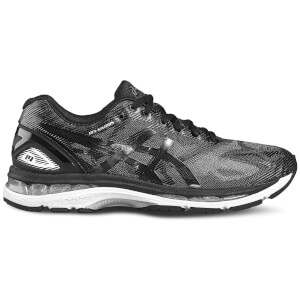 Asics Men's Running Gel Nimbus 19 Running Shoes - Black/Onyx