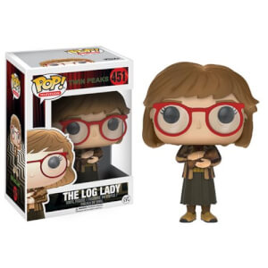Twin Peaks Log Lady Pop! Vinyl Figur