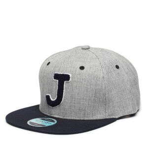Jack & Jones Men's Terry Snapback Cap - Light Grey Melange