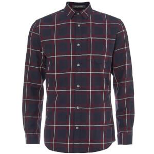 Jack & Jones Men's Originals Larson Long Sleeve Check Shirt - Port Royale