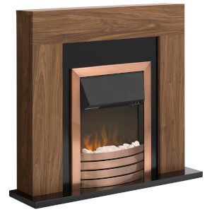 Warmlite WL45025 Sailsbury Fireplace Suite - Dark Wood