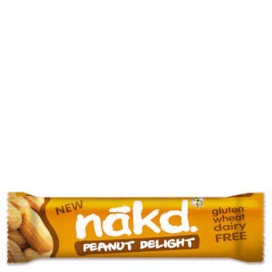 Nakd Peanut Delight Gluten Free Bars - Box of 18