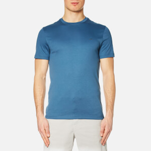 Michael Kors Men's Sleek Mk Crew Neck T-Shirt - Shadow Blue