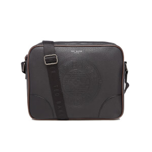 Ted Baker Men's Donboss Embossed Messenger Bag - Black