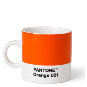 Pantone Espresso Cup - Orange 021