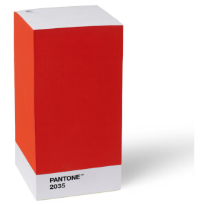 Pantone Note Pad - Red 2035