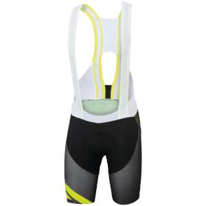 Sportful R&D Cima Bib Shorts - Black/Yellow
