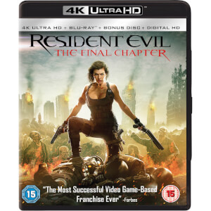 Resident Evil: The Final Chapter - 4K Ultra HD (Includes UV Copy)