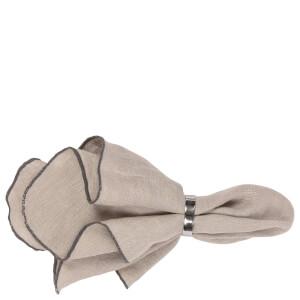 Broste Copenhagen Gracie Napkin - Simply Taupe