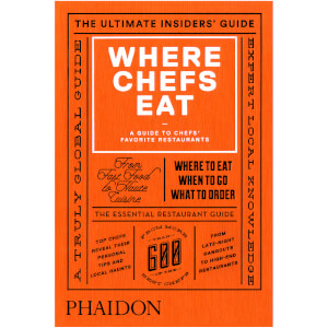 Phaidon Books: Where Chefs Eat