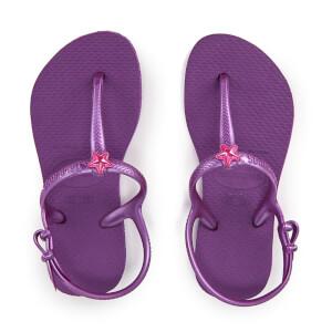 Havaianas Kids' Freedom Flip Flops - Royal Purple
