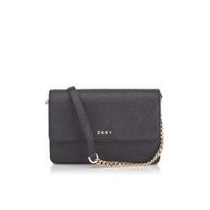 DKNY Women's Bryant Park Small Flap Cross Body Bag - Black