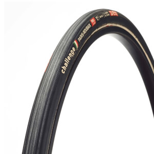 Challenge Paris Roubaix 300 TPI Clincher Road Tyre - Black - 700c x 27mm