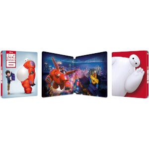 Big Hero 6 3D (Includes 2D Version) Zavvi Exclusive Lenticular Edition Steelbook: Image 3