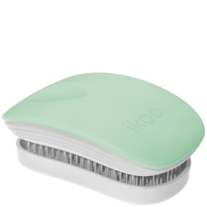 ikoo Pocket Hair Brush - White - Ocean Breeze