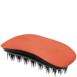 ikoo Home Hair Brush - Black - Orange Blossom