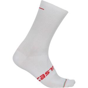 Castelli Linea Socks - White