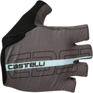 Castelli Tempo Gloves - Anthracite/Pale Blue