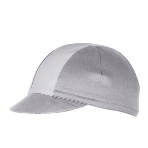 Castelli Fausto Cycling Cap - Multicolour Grey - One Size