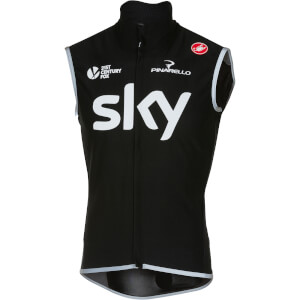 Team Sky Perfetto Gilet - Black