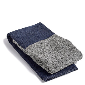 HAY Compose Guest Towel - Navy Blue