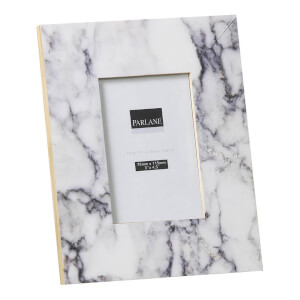 Parlane Marble Effect Frame - White (17 x 21cm)