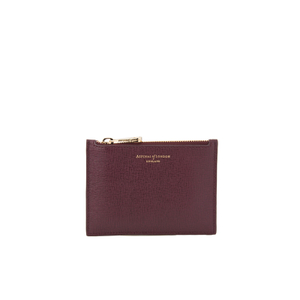 Aspinal of London Women's Essential Pouch Small - Burgundy