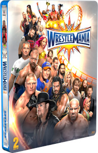WWE: Wrestlemania 33 - Limited Edition Steelbook