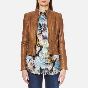 BOSS Orange Women's Janabelle2 Jacket - Light/Pastel Brown