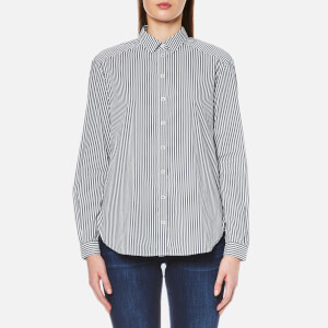 BOSS Orange Women's Emai Shirt - Dark Blue