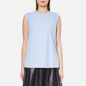 BOSS Orange Women's Citravel Top - Open Blue