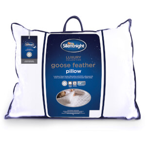 Silentnight Luxury Goose Feather Pillow